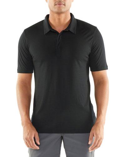 Men's Solace Merino/Lyocell Active Polo Shirt