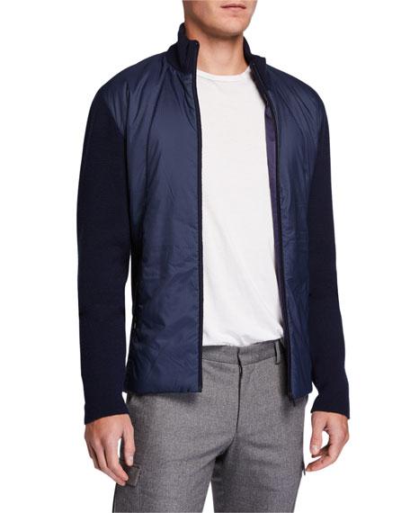 Icebreaker Men's Lumista Hybrid Sweater Jacket