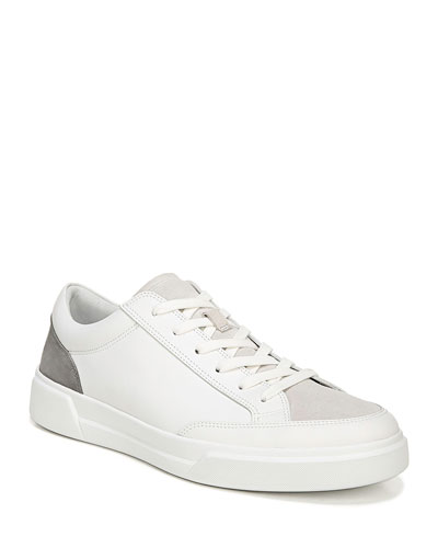 Men's Bowers Leather Low-Top Sneakers