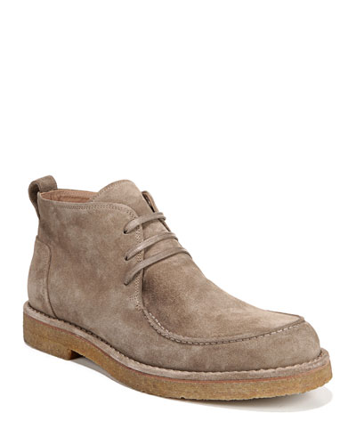 Men's Colter Suede Moc-Toe Chukka Boots