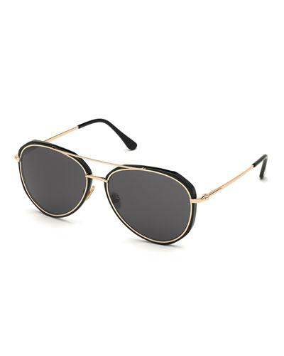 Men's Vittorio Classic Aviator Sunglasses