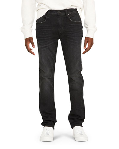 Men's Blake Straight-Leg Stretch-Cotton Jeans