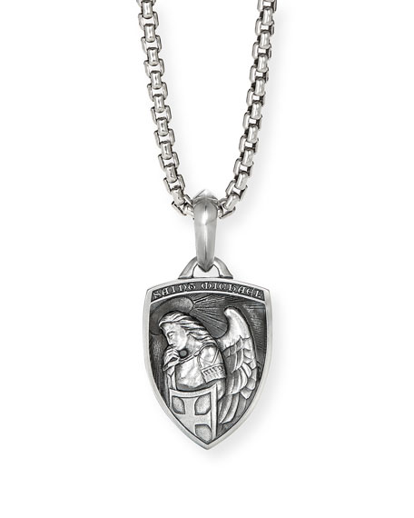 David Yurman Men's St. Michael Amulet Enhancer