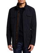 Ermenegildo Zegna Men's Elements 4-Pocket Safari Jacket