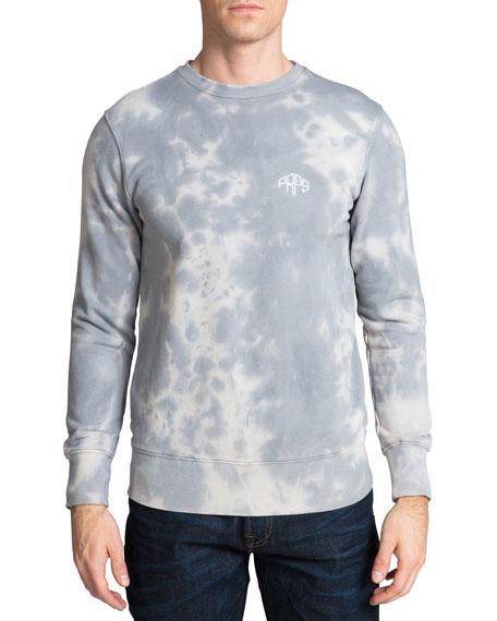 PRPS Men's Cloud Tie-Dye Fleece Sweatshirt