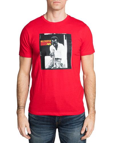 Men's Miles Davis Photo T-Shirt