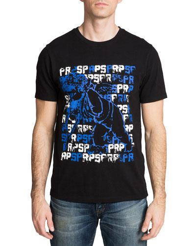 Men's Cherub Logo-Print T-Shirt