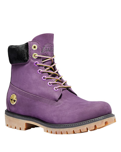 Men's Los Angeles Lakers Hiking Boots