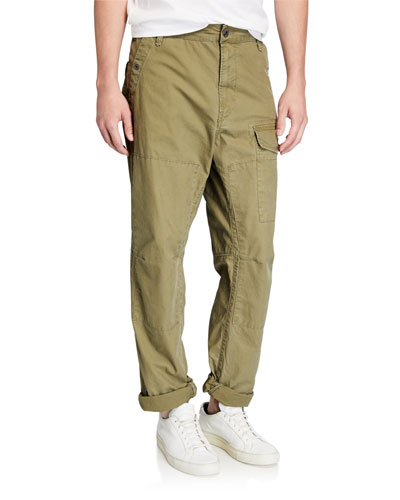 Men's Torrick Relaxed-Fit Vintage Navy Deck Pants