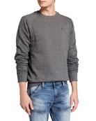 G-Star Men's Motac Paneled Crewneck Sweatshirt