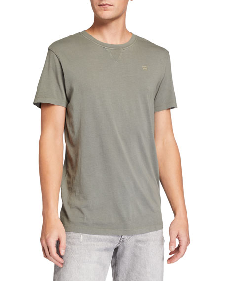 G-Star Men's EarthColors Archroma Crewneck T-Shirt
