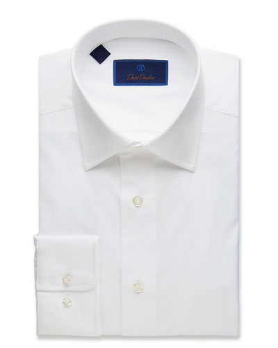 Men's Regular-Fit Superfine Twill Dress Shirt