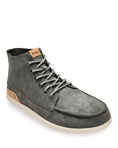 Men's Nalukai Kala Double-Sided Leather Boots