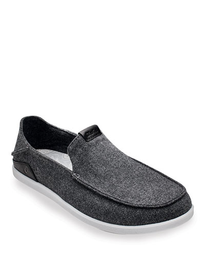 Men's Manoa Hulu Wool-Blend Slip-On Shoes