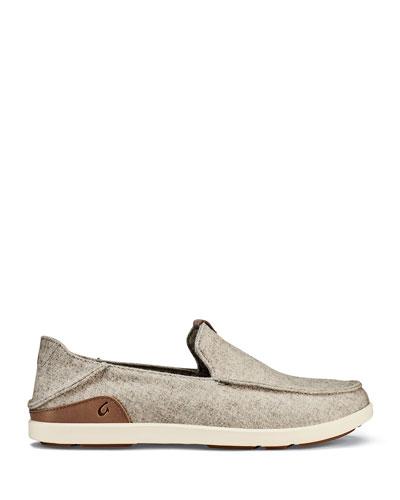 Men's Manoa Hulu Wool-Blend Slip-On Shoes