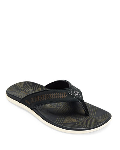 Men's Hawai'iloa Kia Ihu Leather Sandals