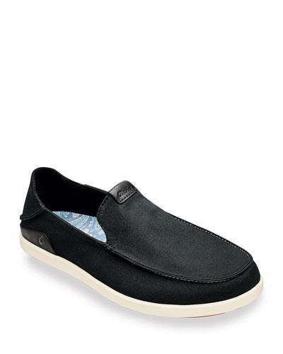 Men's Manoa Canvas Slip-On Shoes