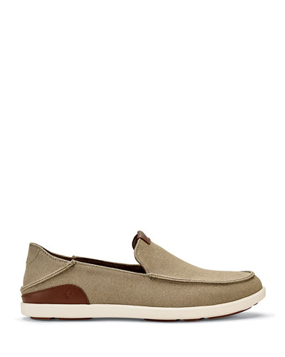 Men's Manoa Canvas Slip-On Shoes