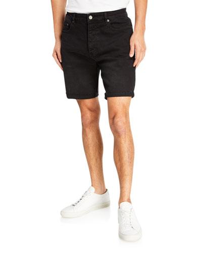 Men's Chopper Hustler Cutoff Denim Shorts
