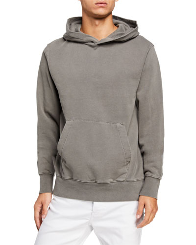 Men's Seeing Lines Vintage-Wash Hoodie