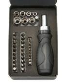 Easy Tiger Men's Stainless Steel Screwdriver Kit