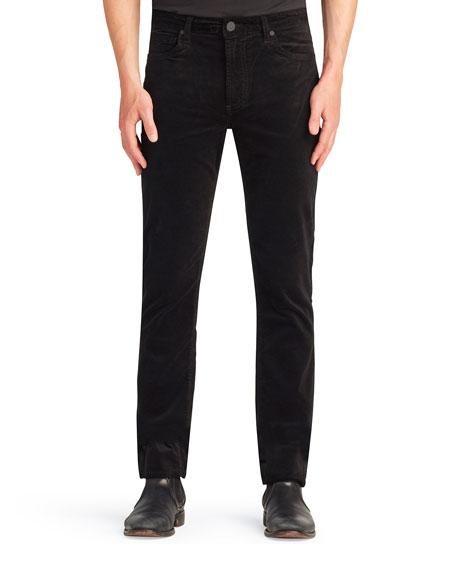 monfrere Men's Brando Velvet Slim Jeans