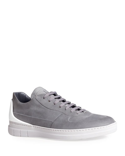 Men's Radial Spoiler Low-Top Leather Sneakers