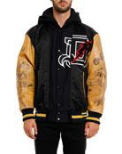 Diesel Men's Anton Varsity Jacket
