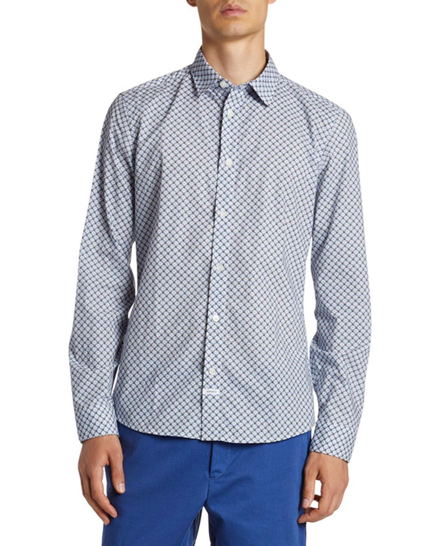 Men's Urban Slim-Fit Sport Shirt