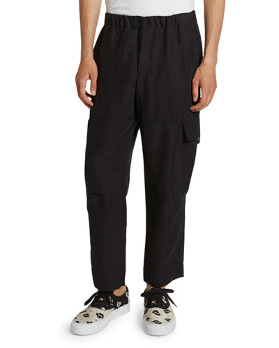Men's Tapered Cropped Cargo Pants