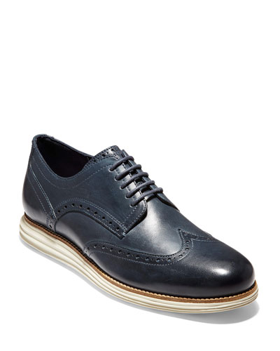 Men's OriginalGrand Wing-Tip Leather Oxford Shoes