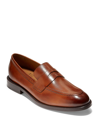 Men's Kneeland Grand Leather Penny Loafers
