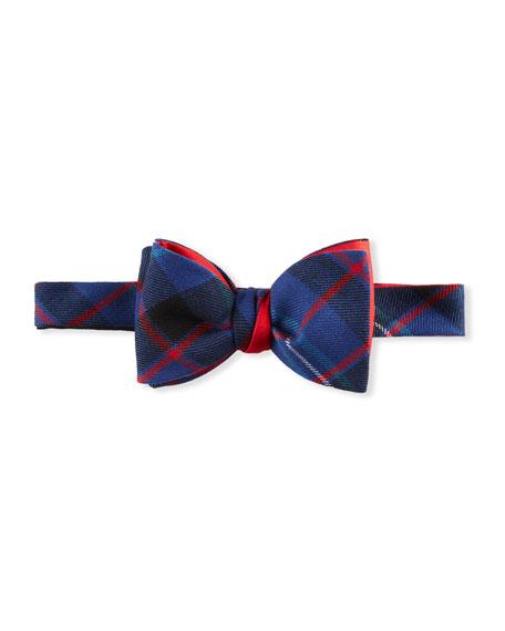 Cinabre Men's Fitzgerald Tartan Bow Tie