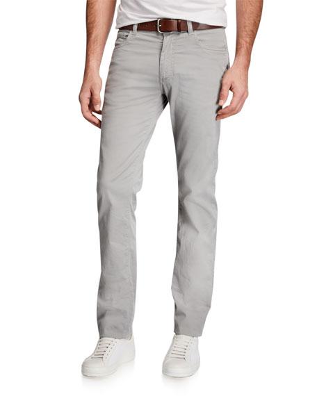 Canali Men's 5-Pocket Straight-Leg Pants