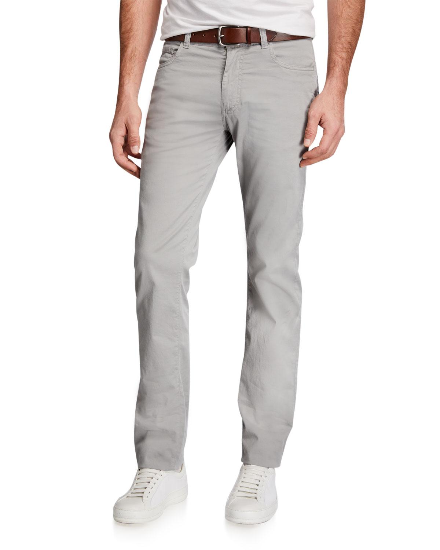 Men's 5-Pocket Straight-Leg Pants