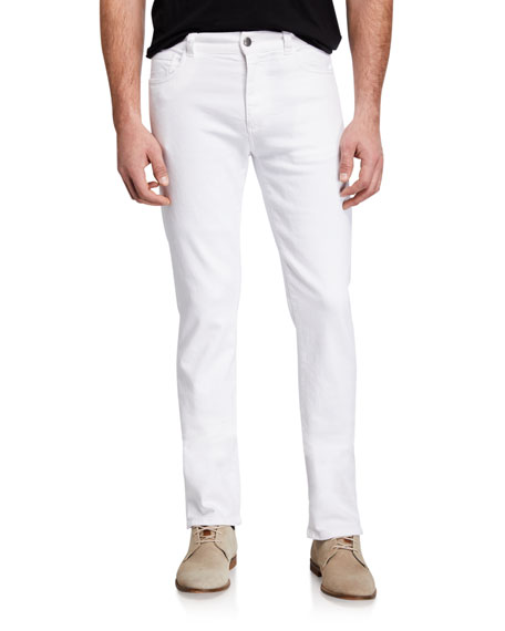 Canali Men's Slim-Straight Stretch Jeans
