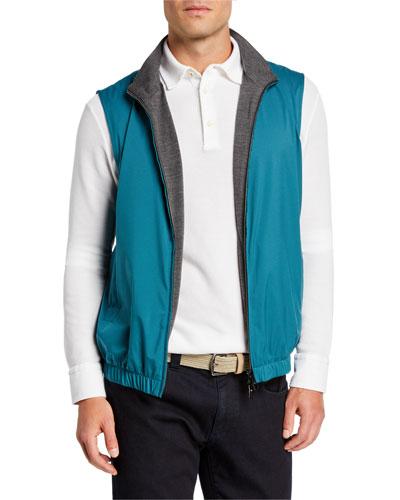Men's Windmate Reversible Zip-Front Vest