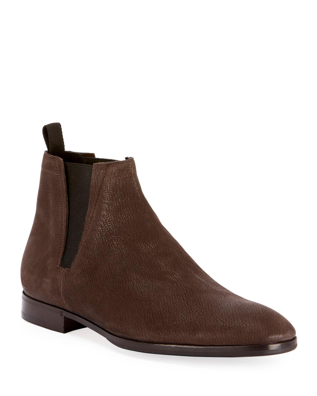 Men's Lorenzo Goat Suede Chelsea Boot