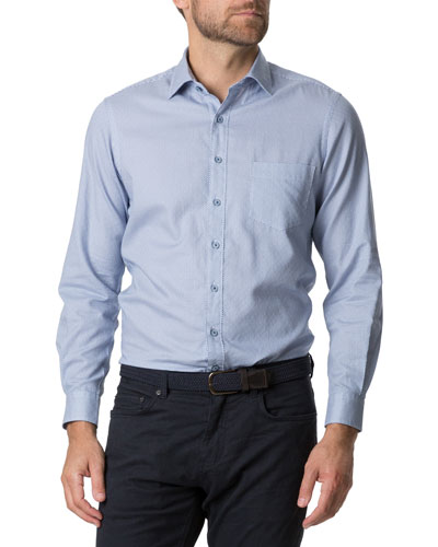 Men's Livingstone Geo-Print Sport Shirt