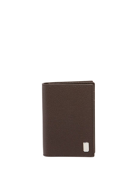 dunhill Men's Belgrave Grained Leather Business Card Holder