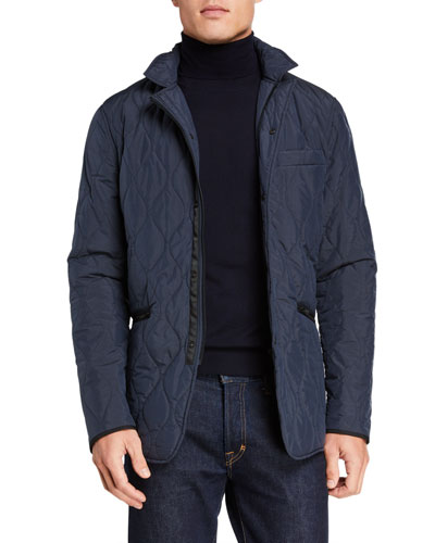 Men's Cuba Street Quilted Jacket