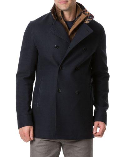 Men's Nixon Road Double-Breasted Coat