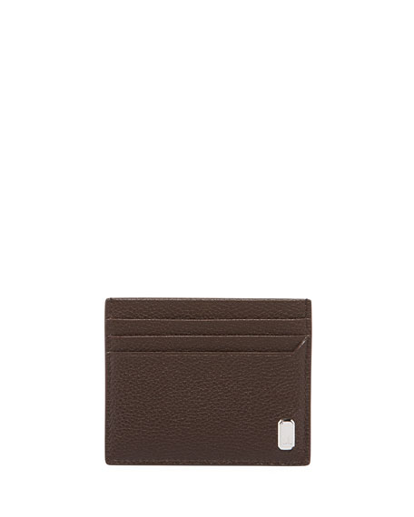 dunhill Men's Belgrave Grained Leather Card Case