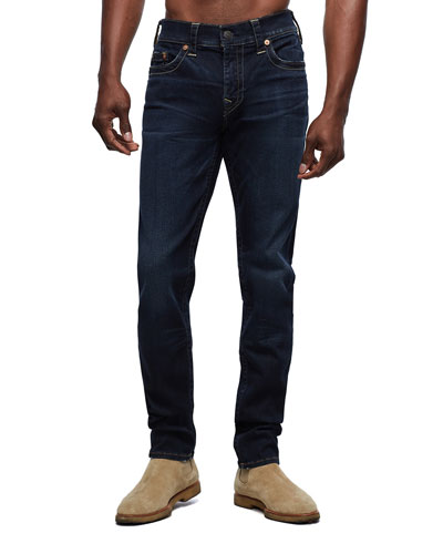 Men's Rocco Dark-Wash Straight-Leg Jeans