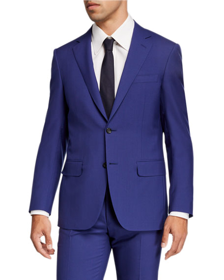 Canali Men's Super 120s Wool Solid Two-Piece Suit