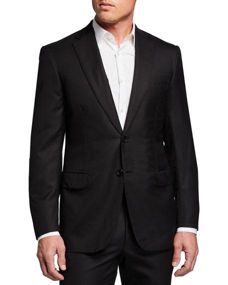Brioni Men's Brunico Basic Virgin Wool Two-Piece Suit
