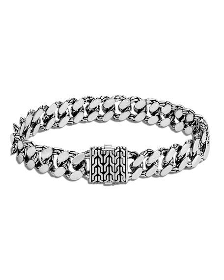 John Hardy Men's Classic Chain Large Link Bracelet, Size M-L