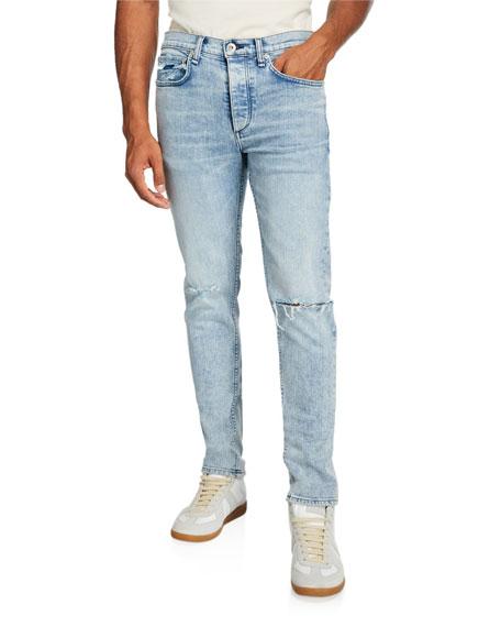 Rag & Bone Men's Standard Issue Fit 1 Distressed Slim-Skinny Jeans