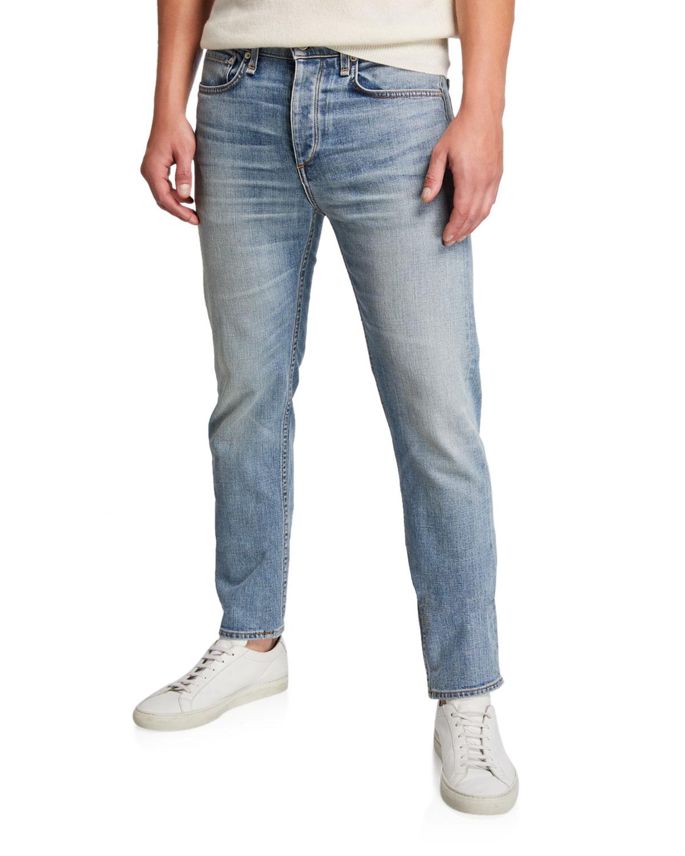 Rag & Bone Jeans MEN'S FIT 2 LIGHT-WASH JEANS