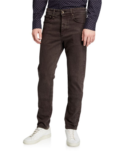 Men's Fit 2 Mid-Rise Stone-Washed Jeans